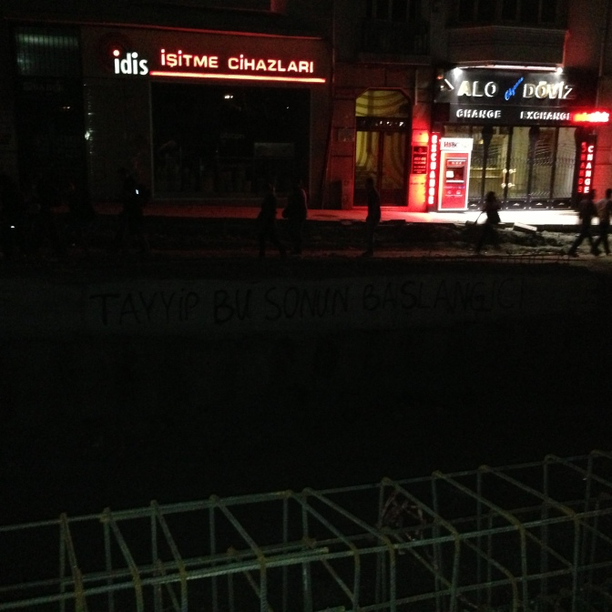 """Tayyip, this is the beginning of the end."""