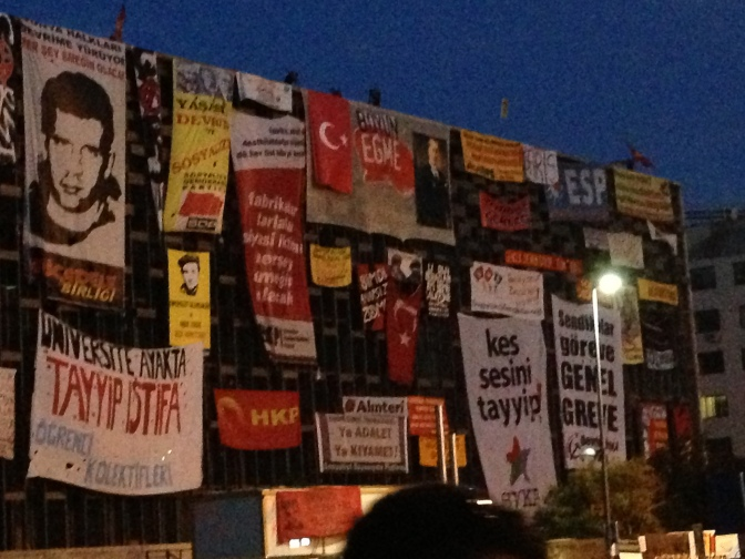 The arts and culture center in Taksim (AKM)